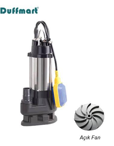 Duffmart V180FS Pis Su Foseptik Parçalayıcılı Dalgıç Pompa