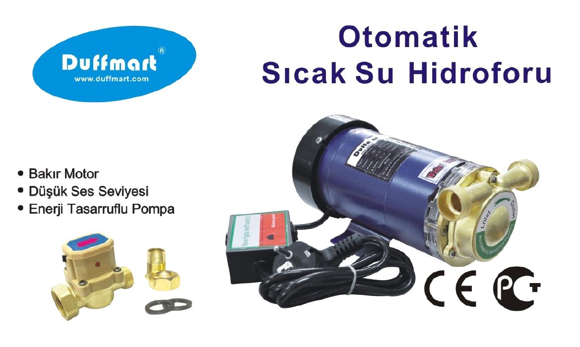 Duffmart WG15-120 Güneş Enerji Basınç Pompası - Sıcak Su Hidroforu pompası